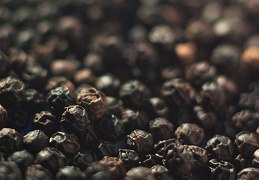 Jul 25  - Black peppercorns