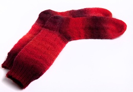 Sep 26 - Red socks