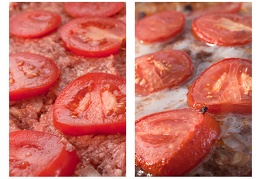 Oct 17 - Meatloaf with tomatoes