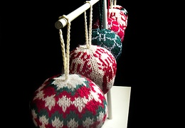 Dec 22 - More knitted balls