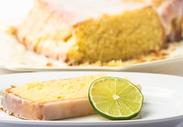 Dec 20 - Cocos-lime cake