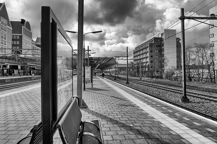 Apr 08 - Waiting for the train