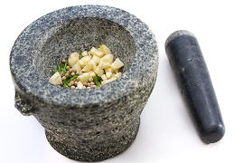 Jun 18 - Mortar and pestle