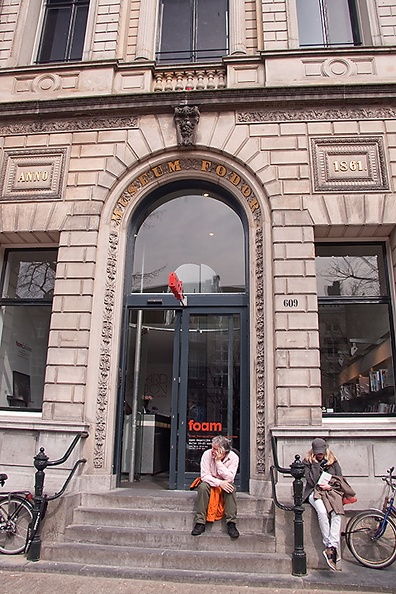 Photography museum in Amsterdam. We went with school to an exhibition of Richard Avedon.