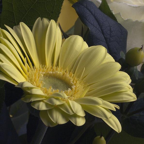 A detail of a bouquet