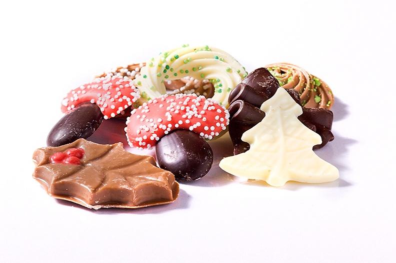 Some nice Christmas chocolate.