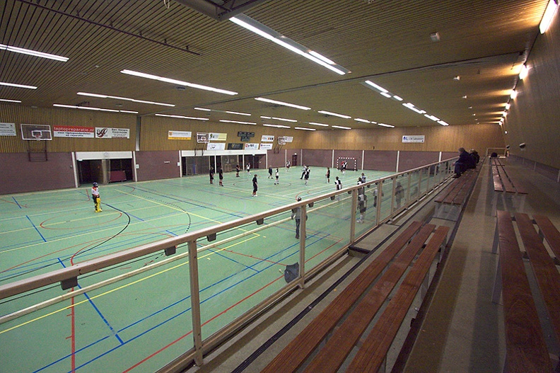 zaalhockey JA2 Sportcentrum Groenendaal