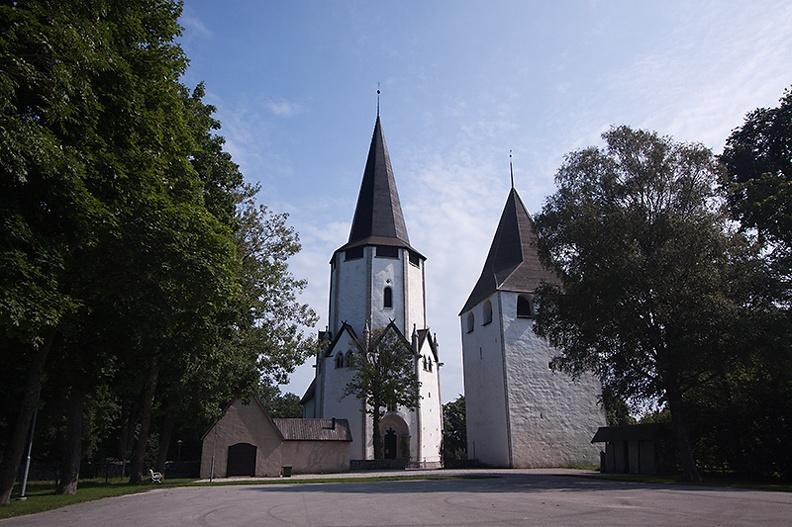 The church of Lärbro, Sweden