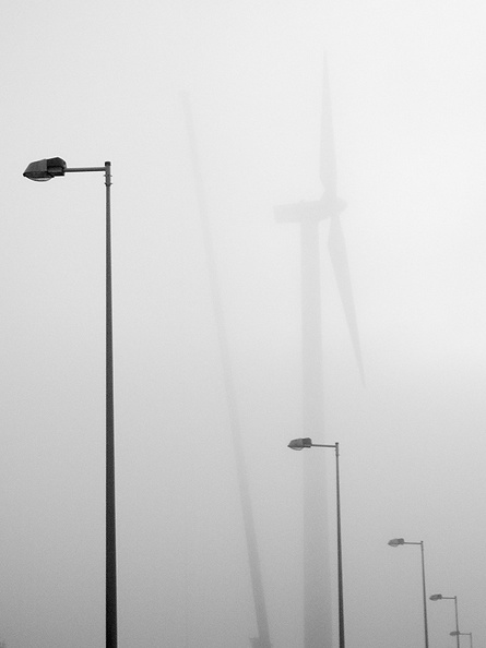 Misty morning today