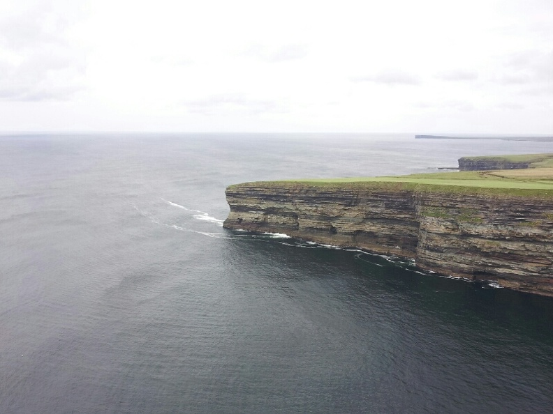 North coast of county Mayo on a grey day.