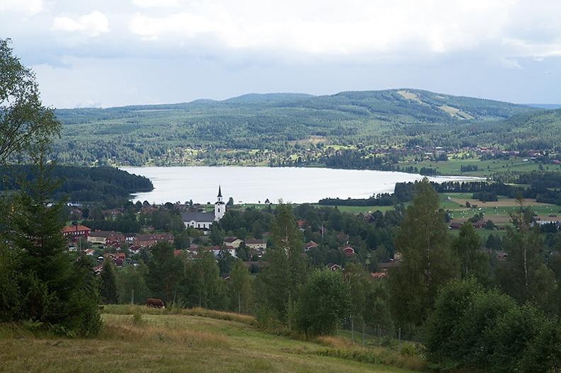 A postcard-like view of Siljansnäs