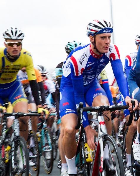 Bicycle race today in the neighborhood. Profronde van Noord-Holland.
