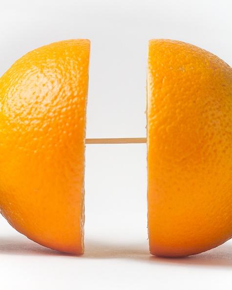 ...of an orange