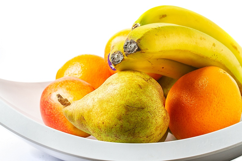 A simple collection of fruit
