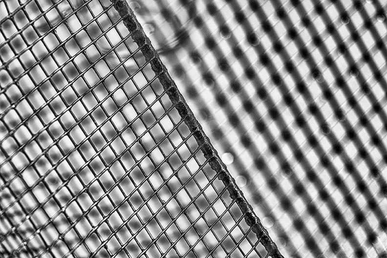 Detail of a deep fry basket