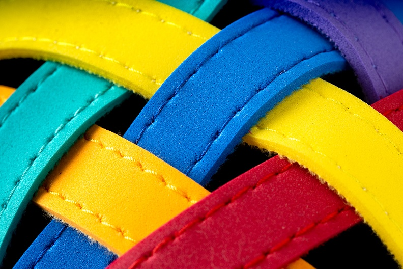 Detail of a slipper