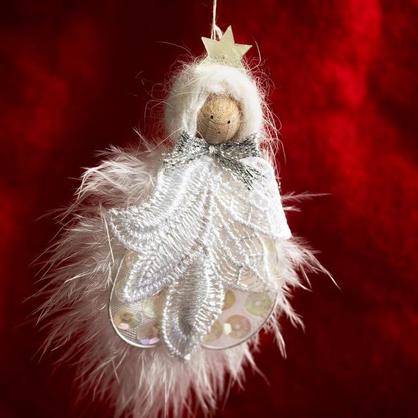 A Christmas ornament