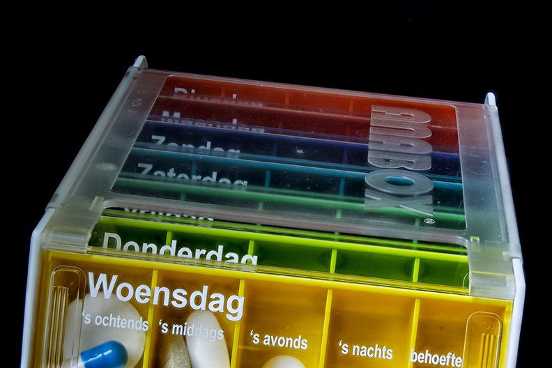 Medicine box. I do like the colors, but it's a sad necessity