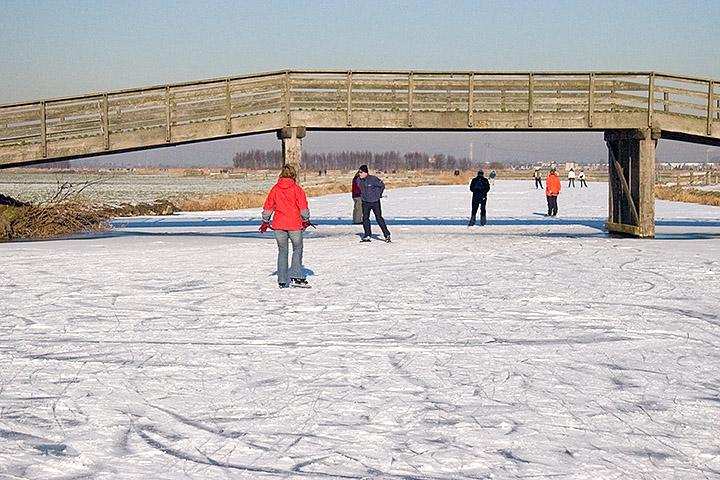 Wonderful ice, wonderful weather, wonderful skating!