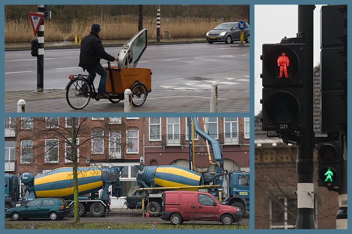 """Not really the classic view of Amsterdam, just some """"a short walk after lunchtime"""" photos"""